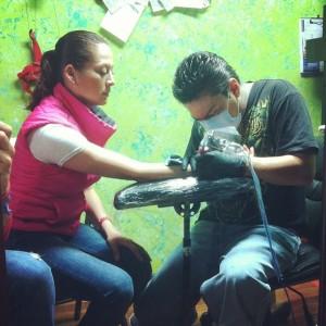 Haciéndome mi Tattoo